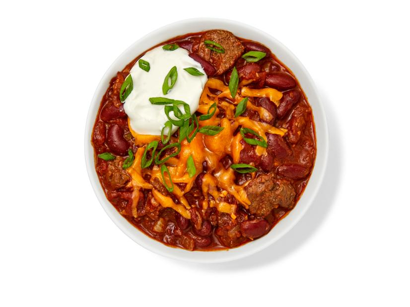 Beef And Bean Chili Recipe Food Network Kitchen Food Network