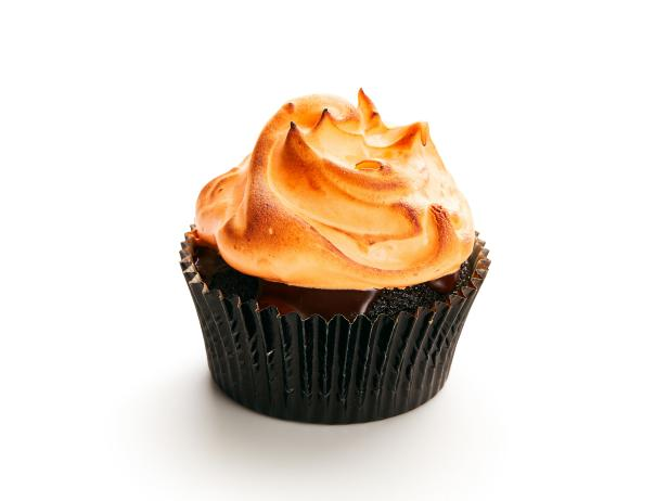 Chocolate-Orange Meringue Cupcakes