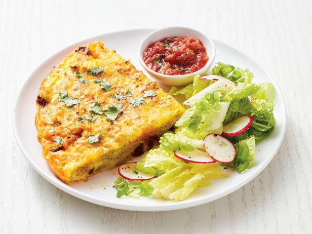 Tex-Mex Tortilla Chip Frittata