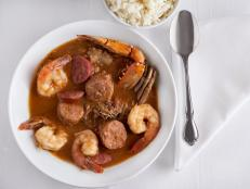 <p>New Orleans natives know that for making friends, you have to eat Gumbo Z'Herbes on Holy Thursday (the more greens used, the more friends). On The Best Thing I Ever Ate, John Besh nearly licks his bowl clean, just like others do with the fried chicken, hot sausage and red beans and rice.</p>