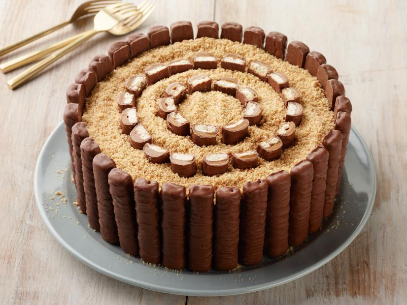 Excellent Twix Lovers Cake Recipe Food Network Kitchen Food Network Funny Birthday Cards Online Inifofree Goldxyz
