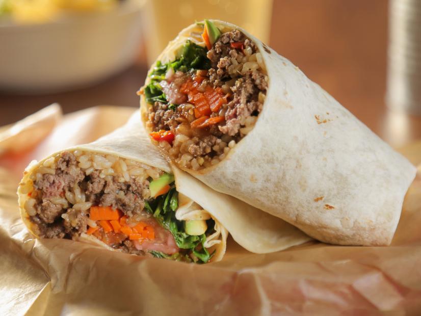 Korean Bbq Burrito Recipe Food Network