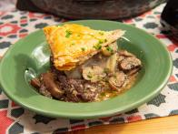 Mushroom and Swiss Wellington Pie