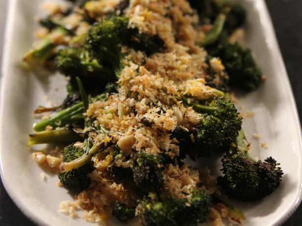 Roasted Broccolini With Panko Gremolata Recipe Ina Garten Food Network