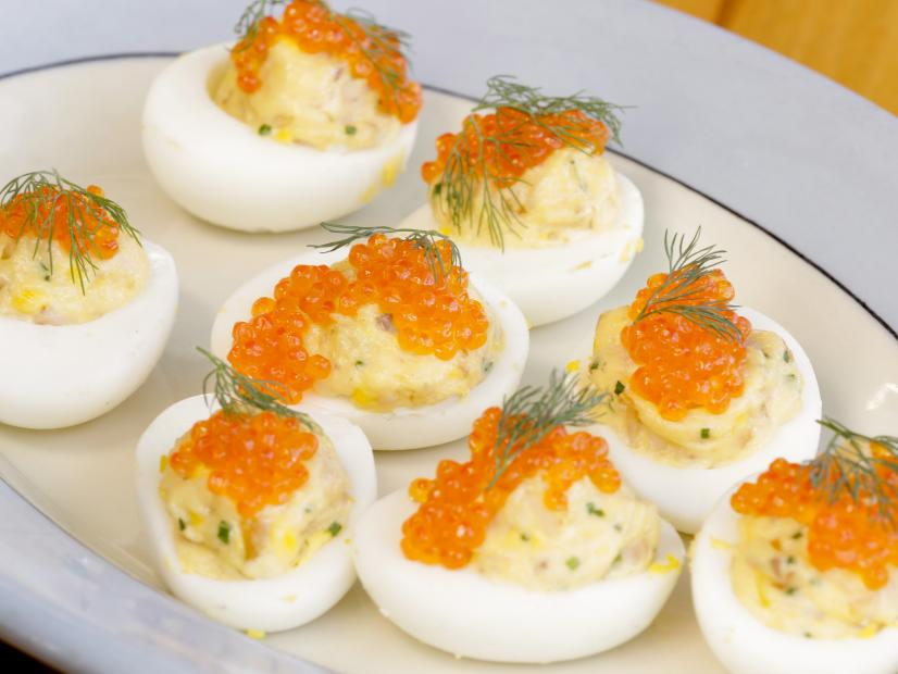 Smoked Trout Devilled Eggs Recipe Food Network