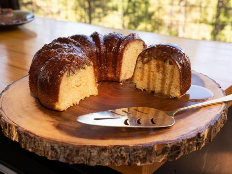 Hot Buttered Rum Cake
