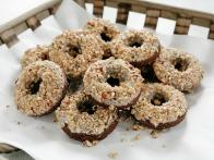 Chocolate Donuts with Coffee Glaze
