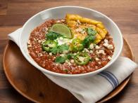 Venison Chili with Jalapeno Cornbread