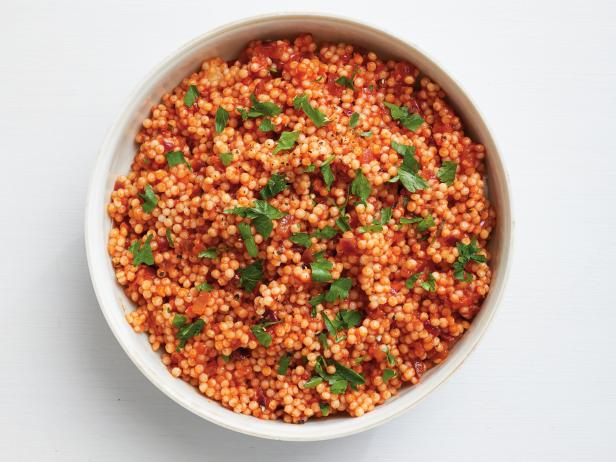 Pearl Couscous With Tomato Sauce Recipe Food Network Kitchen Food Network