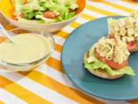 Chicken Salad with Caesar Dressing