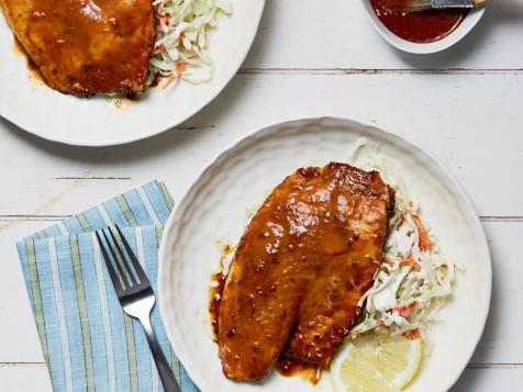 Chipotle-Honey Glazed Tilapia