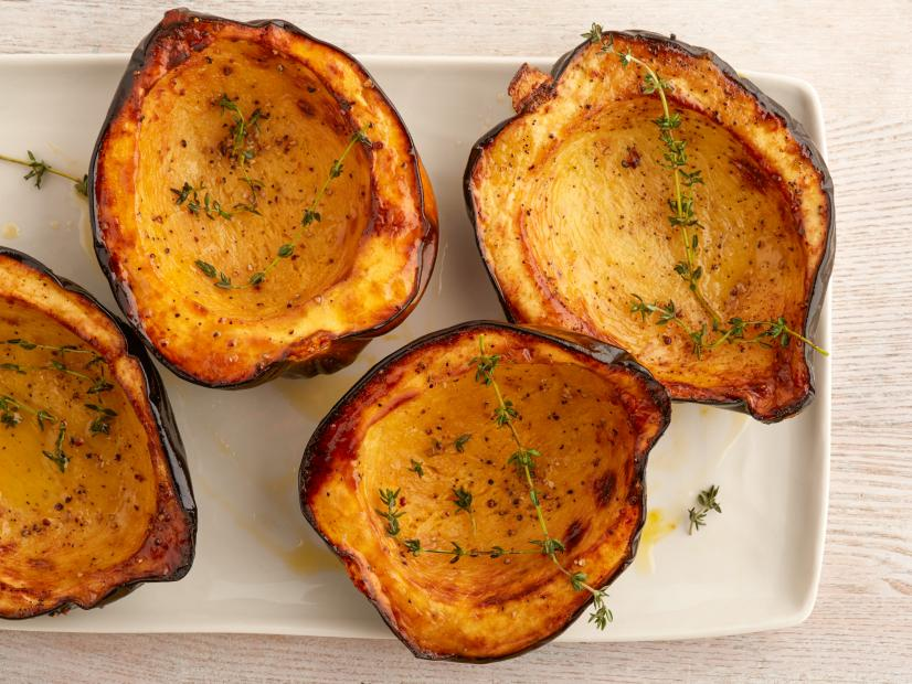 Roasted Acorn Squash Halves Recipe Food Network Kitchen Food Network