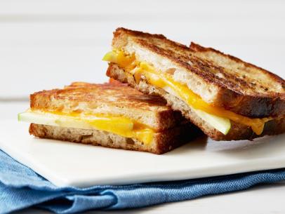 Grilled Cheddar Cheese Sandwich Recipe Melissa D Arabian Food Network