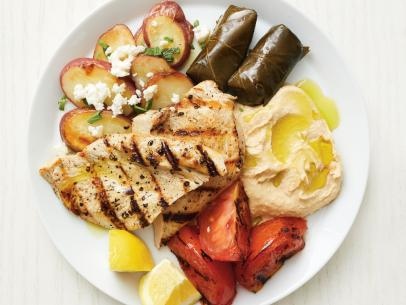 Greek Mezze Platter Recipe Ina Garten Food Network