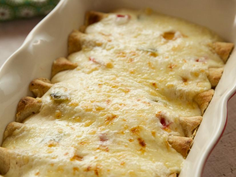 White Chicken Enchiladas Recipe Ree Drummond Food Network