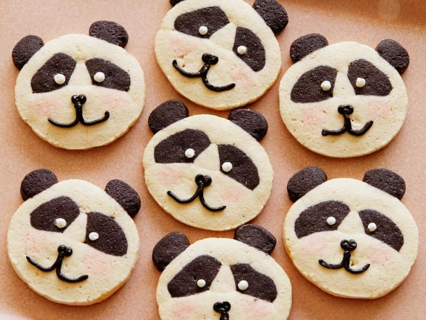 Panda Slice-and-Bake Cookies