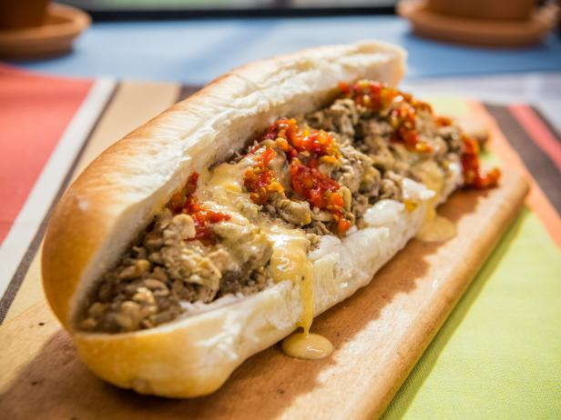 Sunny's Quick Chicken Cheesesteak
