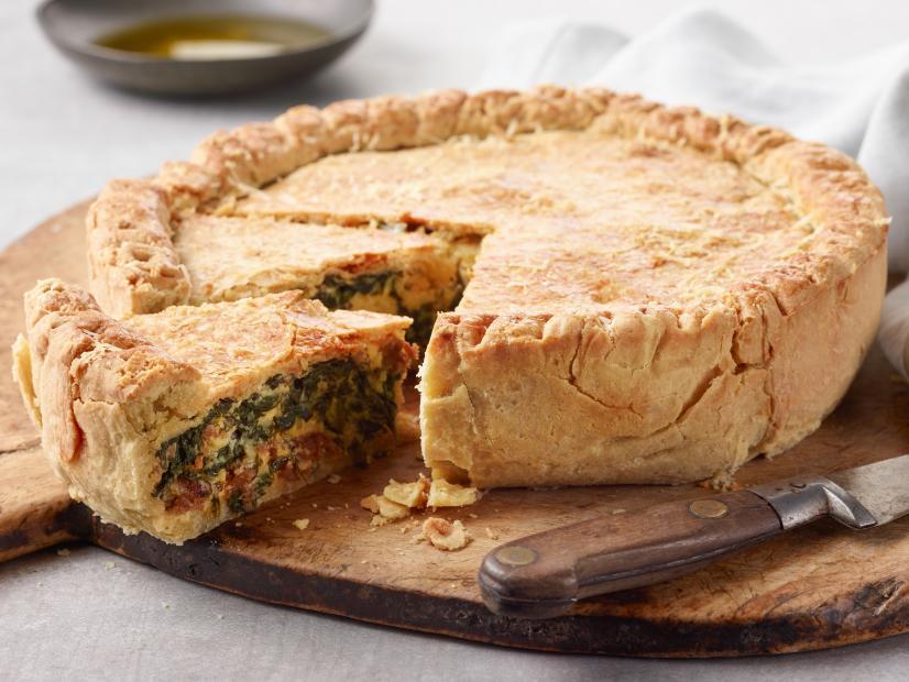 Pizza Rustica Recipe Giada De Laurentiis Food Network