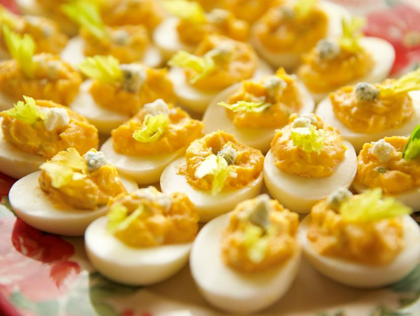Buffalo Deviled Eggs Recipe Ree Drummond Food Network