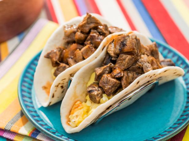 Ultimate Tailgate Steak and Eggs Tacos