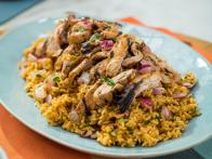 Sunny's Grilled Sweet and Spicy Chicken Thighs and Rice