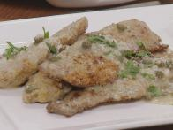 Parmesan Chicken Fingers and Chicken Piccata