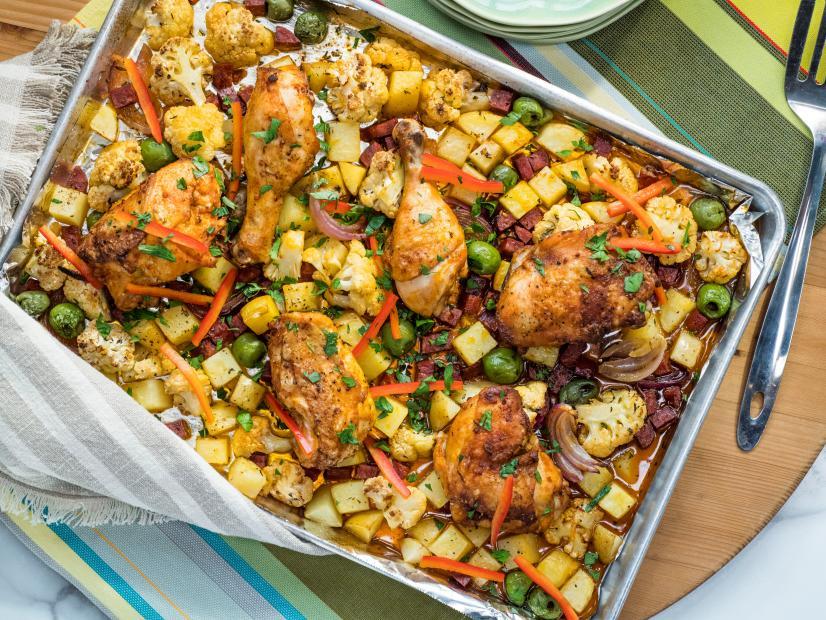 Smoky Sheet Pan Chicken With Cauliflower Recipe Deb Perelman