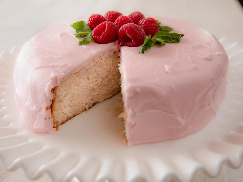 Lemon And Raspberry Cream Cake Recipe Ree Drummond Food Network