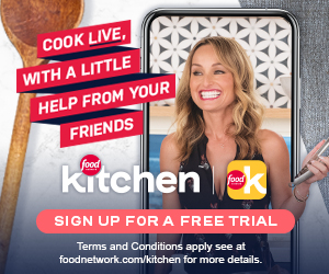 Download the Food Network Kitchen App