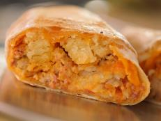 <p>Talk about living up to your name&mdash;this sandwich shop is known for serving up inventive sandwiches in huge portions. Their biscuits and gravy burrito is stuffed to the brim with cheese, hash browns, sausage and chorizo gravy, and an entire house-baked biscuit. It sounds intense, but it&rsquo;s definitely a must-try. &ldquo;I was scared at first, but the way you seasoned it, it isn&rsquo;t overly heavy,&rdquo; said Guy.</p>