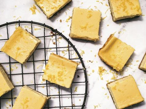 Gluten-Free Lemon Cheesecake Squares