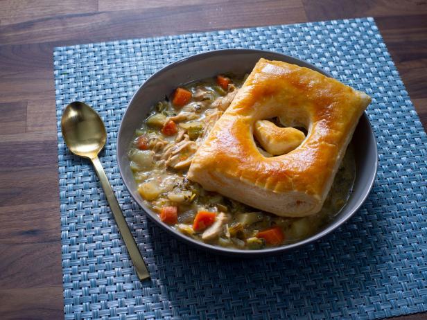Quick Rotisserie Chicken Pot Pies Recipe Rachael Ray Food Network