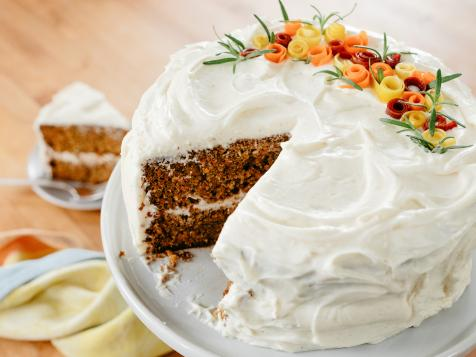 Molly's Carrot Cake with Spiced Cream Cheese Frosting