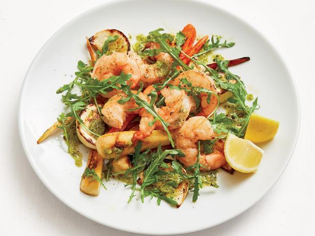 Shrimp Vegetable Salad Recipe