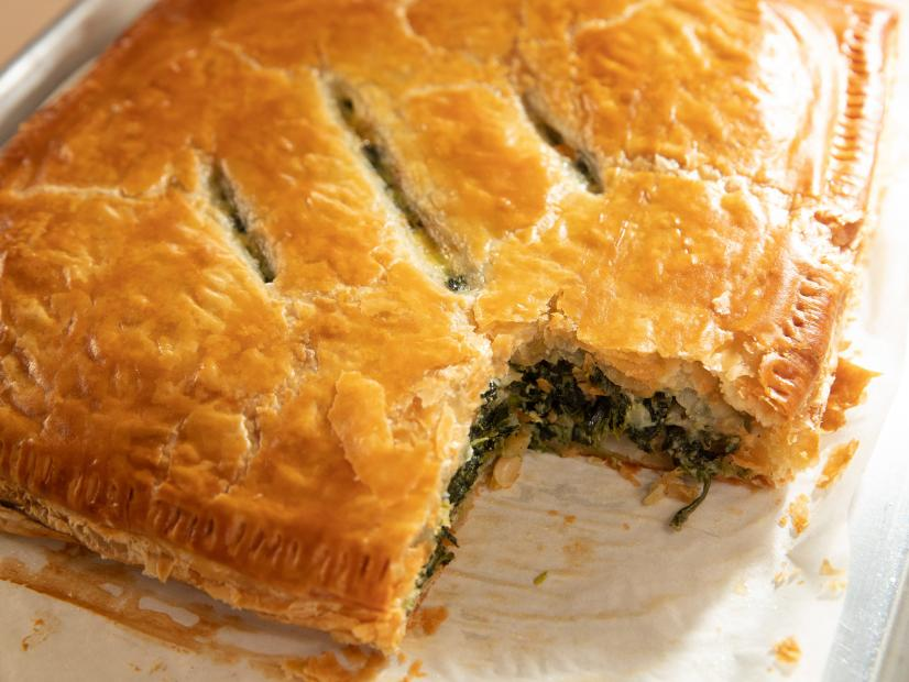 Spinach In Puff Pastry Recipe Ina