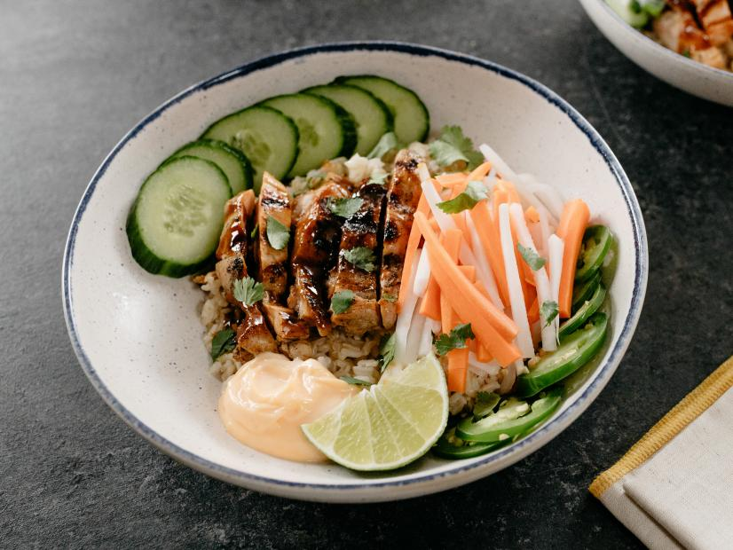 Citrus Chicken Rice Bowls Recipe Molly Yeh Food Network