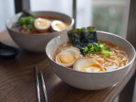 Easy Miso Ramen with Soy Marinated Eggs