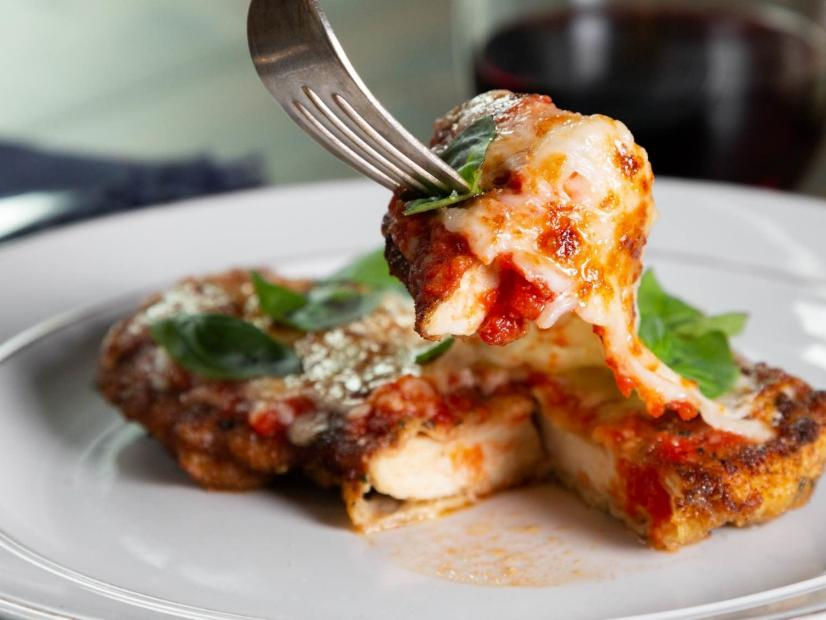 Chicken Parmesan Recipe Don Angie Food Network