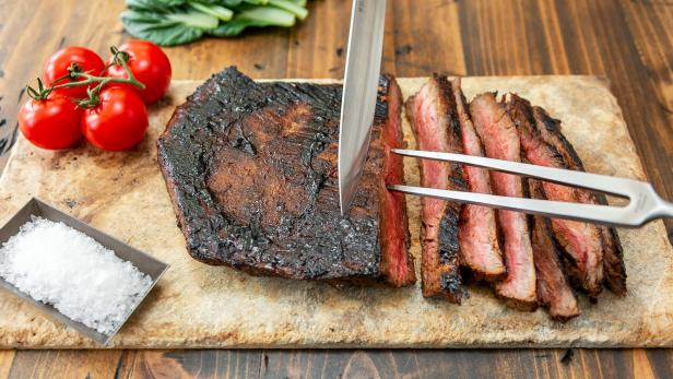 Grilled Marinated Flank Steak_image