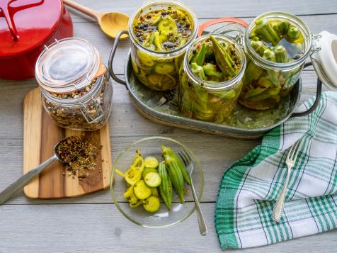 Quick and Easy Southern Pickles and Okra