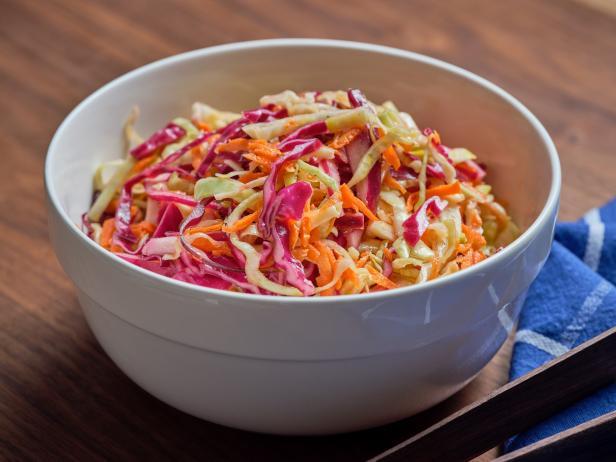 The Best Vinegar Coleslaw Recipe Food Network Kitchen Food Network