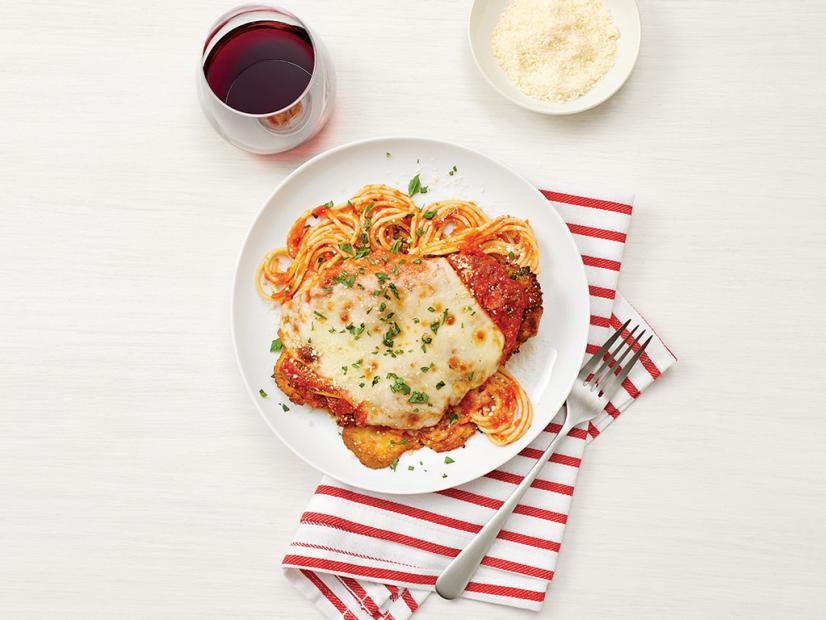 Chicken Parmesan With Spaghetti Recipe Food Network Kitchen Food Network