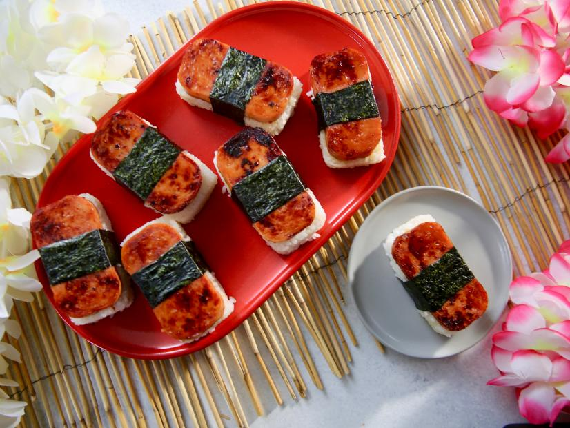 Sweet And Salty Ham Musubi Recipe Molly Yeh Food Network