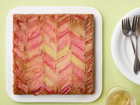 Upside-Down Rhubarb Bread
