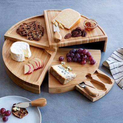 The Internet's Favorite Cheese Board from Uncommon Goods Is Back in Stock