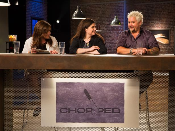 Rachael Ray, Alex Guarnaschelli and Guy Fieri on Rachael vs. Guy: Kids Cook-Off