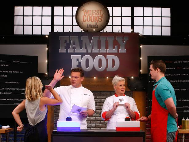 Worst Cooks Family Food