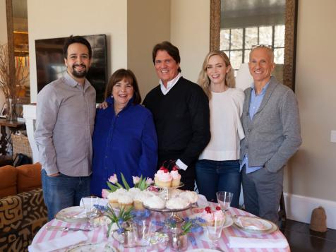 The Stars Of Mary Poppins Returns Cook With Ina Fn Dish Behind The Scenes Food Trends And Best Recipes Food Network Food Network