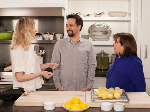 In The Kitchen With The Stars Of Mary Poppins Returns Barefoot Contessa Cook Like A Pro Food Network