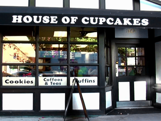 house of cupcakes calories